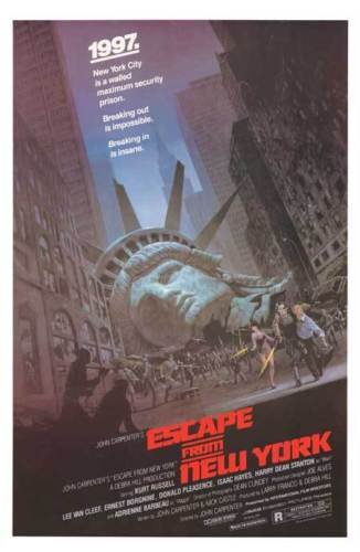 Twenty-three 24X36 Inchcanvas poster-Escape From New York -