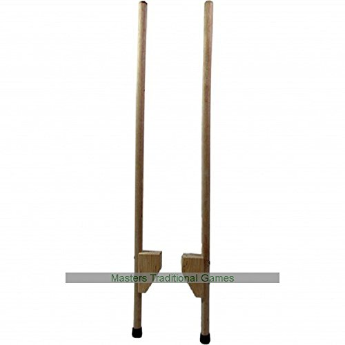 Junior Hold-on Wooden stilts by Juggle Dream by Juggle Dream