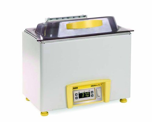 (LAUDA LCB 4723 Model AL 2 Stainless Steel Aqualine Heated Water Bath, 115V, 60Hz, 1.7L Capacity)