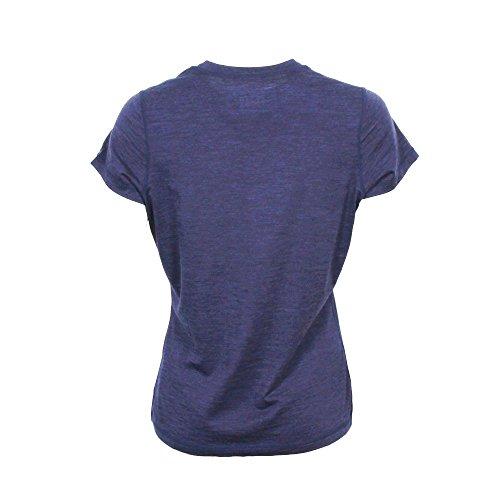 ICEWEAR Kríunes Damen T-Shirt Merino Blue