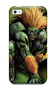 Hot Street Fighter First Grade Tpu Phone Case For Iphone 5c Case Cover
