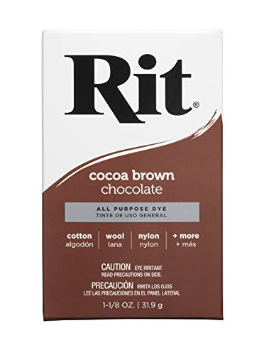 Rit Purpose Powder Dye, Cocoa Brown