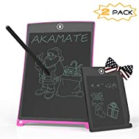 AKAMATE LCD Writing Tablet, Electronic Writing Drawing Board Doodle Board, Portable Handwriting Paper Drawing Tablet with Smart Writing Stylus for Kids and Adults at Home,School and Office