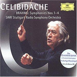 Celibidache-Edition (The Stuttgart Recordings 1: Brahms-Sinfonien)