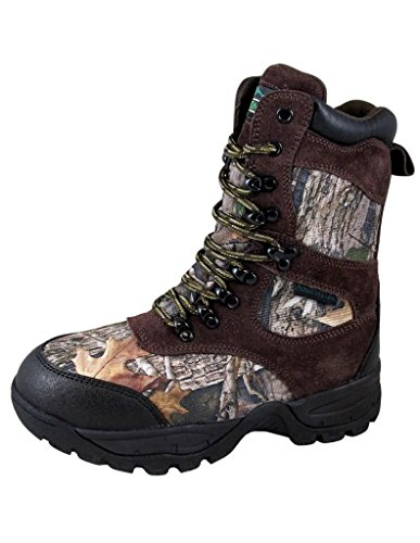 Image of Smoky Mountain Boys' Camo Sportsman Insulated Hunting Boot Round Toe - 2478Y