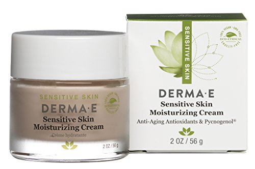 (DERMA E Sensitive Skin Moisturizing Cream with Pycnogenol Vitamins A, C and E 2oz)