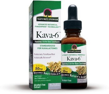 Natures Answer Kava 6 Alchol-Free Extract by Nature's Answer