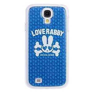 JAJAY-Lovely Rabbit Pattern Hard Case for Samsung S4 I9500