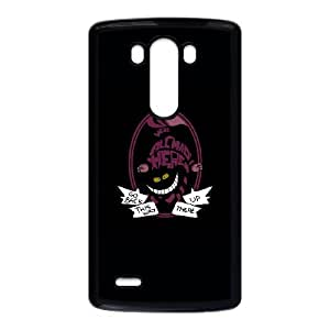 LG G3 Cell Phone Case Black Cheshire PD5340883