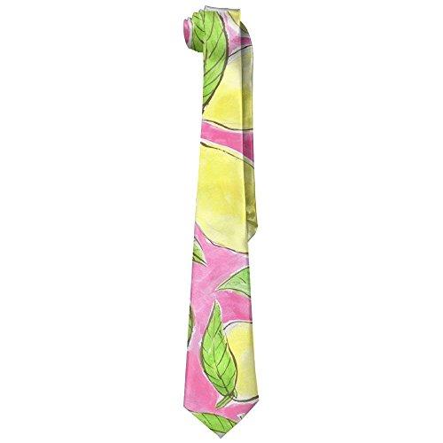 Summer Groom Tie 1372 Dances For Wide Lemons Gifts With Weddings Missions Great Neckties Necktie Skinny Groomsmen Cotton Necktie Print Man's pnXYBY