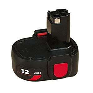 Skil 120BAT Replacement Pod Style 12V 1.2Ah Battery # 2607335511