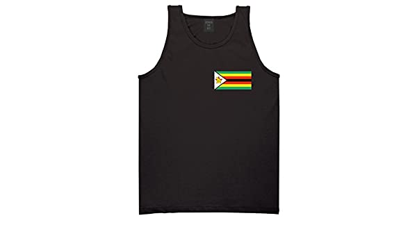 Zimbabwe Flag Country Chest Tank Top Shirt