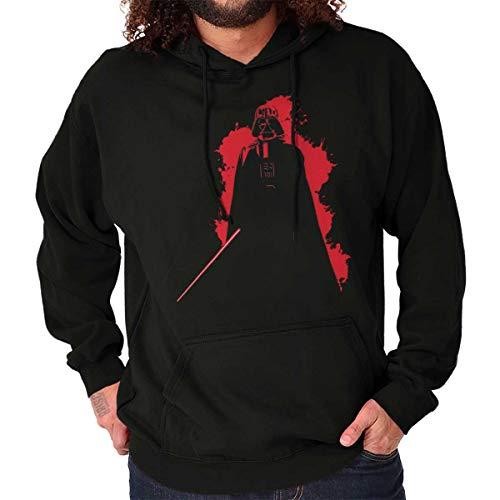 Dark Lord Villain Graphic Cool Nerd Geek Hoodie Black]()