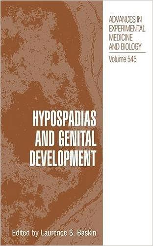 Hypospadias and Genital Development (Advances in