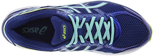 Asics Womens Gel-exalt 3 Scarpa Da Corsa Asics Blu / Menta / Flash Giallo