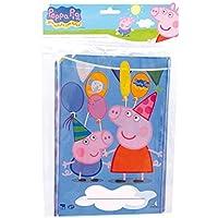 Peppa Pig Bag of 10 Rectangular Bags– 17 x 25 cm (Verbetena 016000716)