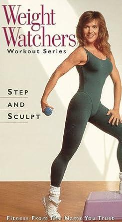 Amazon Com Weight Watchers Workout Series Step And Sculpt Vhs Weight Watchers Movies Tv