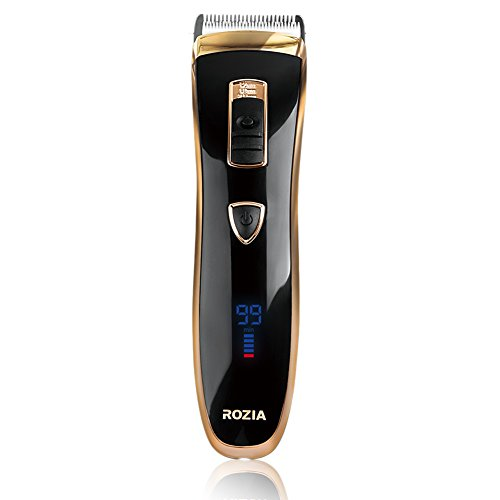 ROZIA Professional Electric Razor Cordless Rechargeable Hair Clippers Close Shaver Hair Trimmer for Men