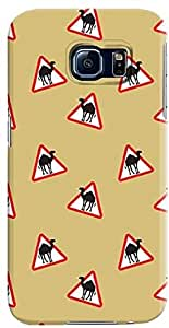 Stylizedd Samsung Galaxy S6 Premium Slim Snap case cover Matte Finish - Camel Signs