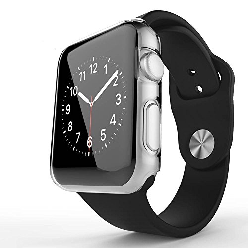 Apple Watch Series 2 Case, Haoos Ultra-Thin Slim Clear PC ...