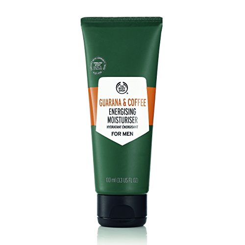 The Body Shop Guarana and Coffee Energizing Moisturizer For Men, 3.3 Fl Oz (Vegan) (Best Mens Body Moisturiser)