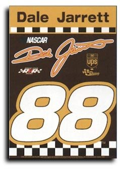 """Dale Jarrett - 28"""" x 40"""" Double-Sided Banner"""