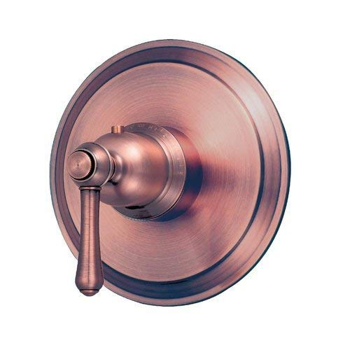 (Danze D562057ACT Opulence 3/4-Inch Thermostatic Shower Valve Trim, Antique)