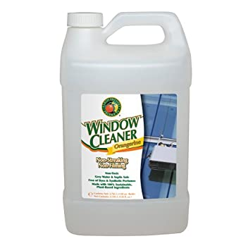 Earth Friendly Products Proline PL9962/04 Orangerine Window Cleaner, 1:128 Concentrate, 1 gallon Bottles (Case of 4)
