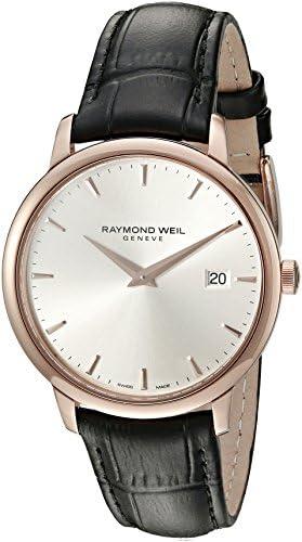 Raymond Weil Men s 5488-PC5-65001 Analog Display Quartz Black Watch