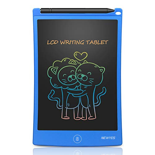 Newest 8.5 Inch Doodle Board Colorful Version LCD Screen Writing Tablet Blue