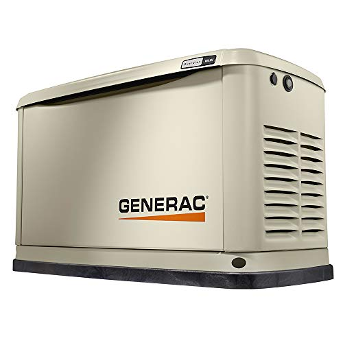 Generac 70351 16/16 Kw Air-Cooled WiFi Home Standby Generator, Aluminum