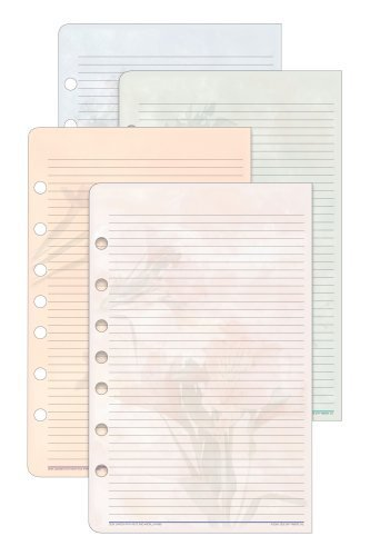 Day-Timer Garden Path Note Pads, 24 Sheets each, 2 Pack,Desk Size (D13488) by Day-Timer ()