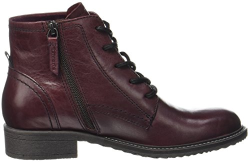 Bottes Femme Merlot 25245 Leather Rouge Tamaris gO8vqw