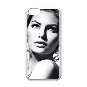 iPhone 5c Cell Phone Case Covers White alyssa Miller Elle Italia rlcc
