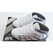 UFC Ultimate Lightweight Training Shoes MMA Sparring Wrestling Indoor Gym Shoes White/Silver Size 7