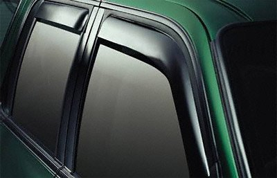 EGR 571821 WindowVisor Dark Smoke 4-Piece in-Channel Tapeless Window Visors (Window Channel Right)