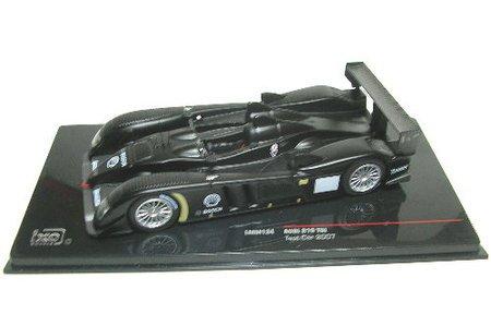 Audi R10 TDi 07 Le Mans test car mat black (1/43 LMM134) (japan import) by Ikuso 43 Black Diecast Car