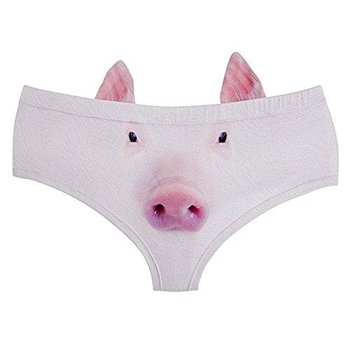 DUOLAIMENG - Braguitas - para mujer cerdo