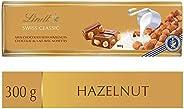 Lindt Swiss Classic Milk Hazelnut Chocolate, Gold Bar, 300g