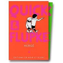 COFFRET QUICK ET FLUPKE 2 VOLUMES NOIR ET BLANC