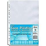 Saco Plástico PP A4 Cristal Pacote com 10 Unidades Chies Saco Plástico PP A4 Cristal Pacote com 10 Unidades - Chies