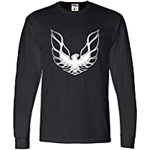 Go All Out Screenprinting Adult Pontiac Firebird Logo GTA Trans-Am Retro Long Sleeve T-Shirt