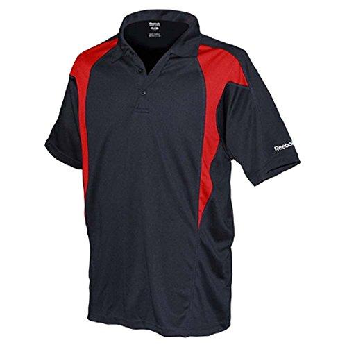 REEBOK GOLF NEW Mens Size ColorBlock Dri-fit Sport t Shirts 2X 3X 4X 5X POLO Red 4XL (Colorblock Golf)