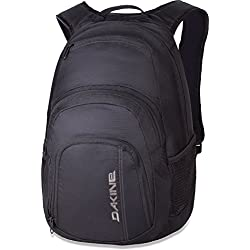 Dakine Campus 25L Lifestyle Backpack, One Size, Black