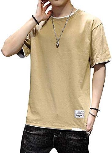 メンズ Tシャツ 半袖 大きいサイズ ゆったり カジュアル トップス 柔らかい 快適 春夏秋 シンプル