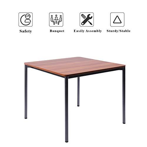 Office Steel Conference Table - Sunon Multi-Purpose Square Table, 35.4