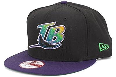 New Era Tampa Bay Devil Rays Custom Side Patch Green Bottom Snapback