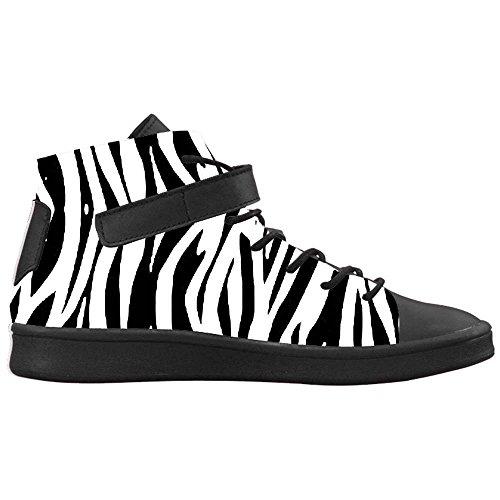 Dalliy zebra stripe Mens Canvas shoes Schuhe Footwear Sneakers shoes Schuhe B