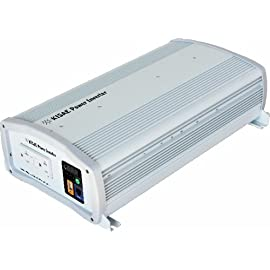 KISAE Technology SW1220 2000W True Sine Wave Power Inverter 4 2000W of output from any 12VDC source; Voltage (nominal) 12.5Vdc; Operation Range 10.5 – 15.5Vdc Automatic shutdown protects overload, over temperature and low/high battery conditions True sine wave output is ideal for operating motor loads, and to reduce stress on surge protection circuitry, meaning potentially longer equipment life