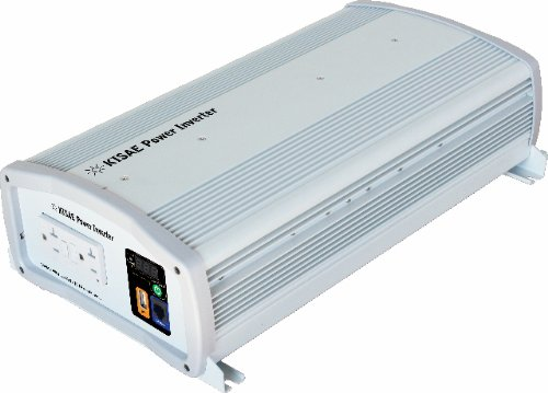 KISAE Technology SW1220 2000W True Sine Wave Power Inverter
